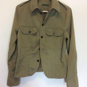Lauren jeans size med military inspired jacket